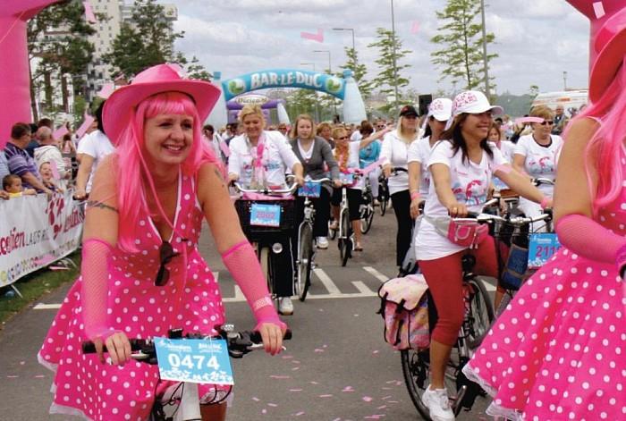 Zondag 2 juni 2013 Leontien Ladies Ride Raalte - Foto: PR