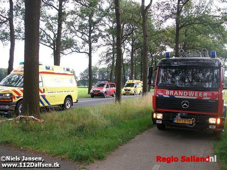 Bestuurder overleden na ongeval in Dalfsen (update) - Foto: Niels Jansen