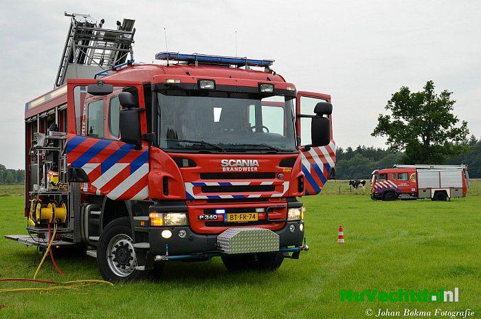 Brandmelding Rosengaerde Dalfsen blijkt loos alarm - Foto: Niels Jansen