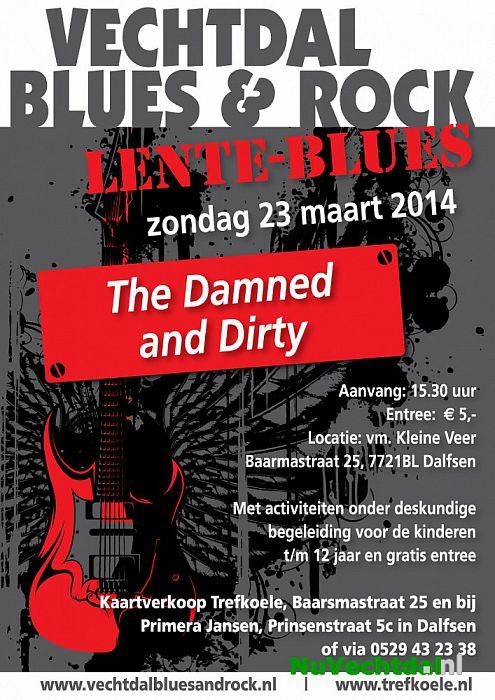 Zondag 23 maart Lente Blues in Dalfsen - Foto: Niels Jansen