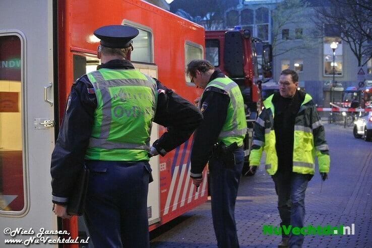 [Foto's] Dalfser brandweer bij grote brand Zwolle - Foto: Niels Jansen