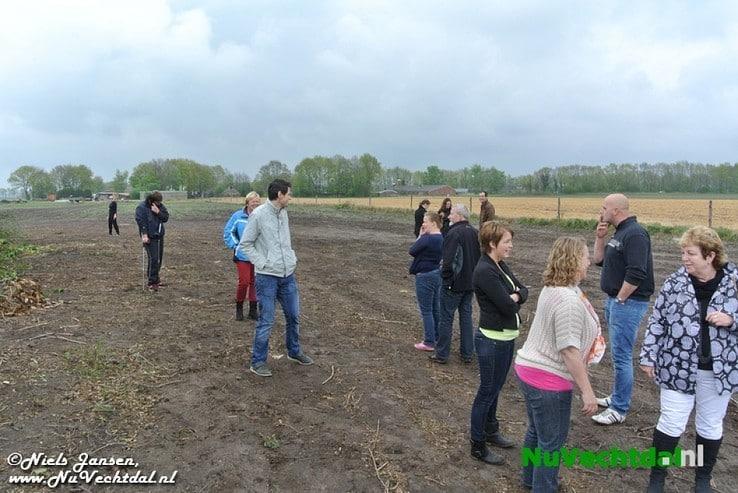 Gouden ei gevonden bij paasbult Oudleusen - Foto: Niels Jansen