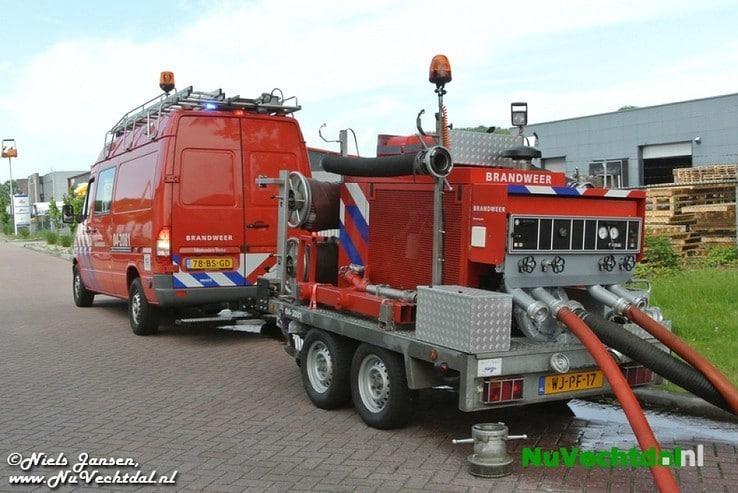 VIDEO Brand loopt met sisser af in Nieuwleusen - Foto: Niels Jansen