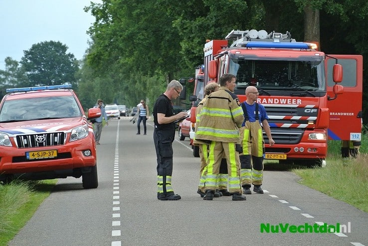 (VIDEO) Zweefvliegtuig stort neer bij Dalmsholte - Foto: Niels Jansen