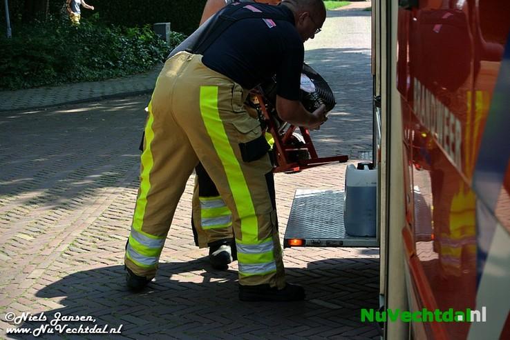 Brandweer Dalfsen rukt uit naar verbrande muffins - Foto: Niels Jansen