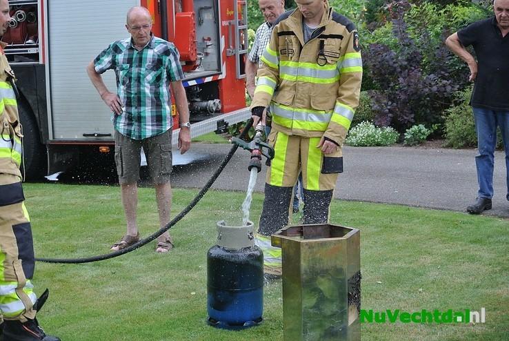 Explosieve situatie bij BBQ Mariënheem - Foto: Niels Jansen