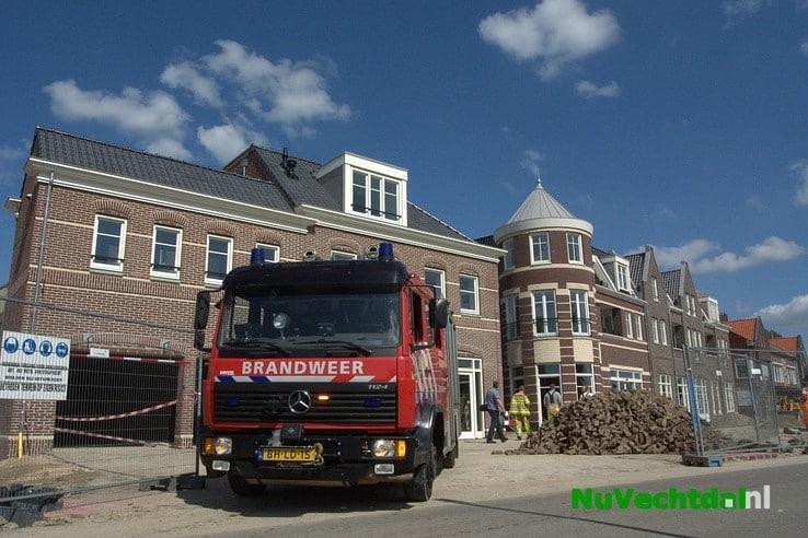 Brandalarm bij nieuwe Waterfront in Dalfsen - Foto: Niels Jansen