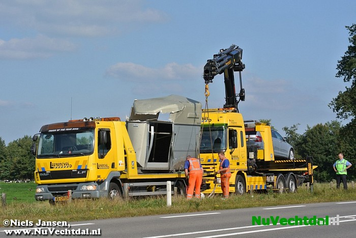 Video: Ongeval auto/paardentrailer N340 Zwolle-Dalfsen - Foto: Niels Jansen
