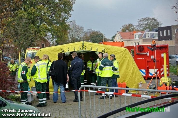 Beelden: Grote rampenoefening op de Vecht bij Dalfsen - Foto: Niels Jansen