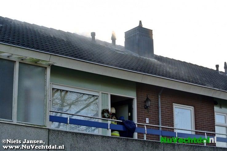 Woningbrand Badinckstraat Dalfsen - Foto: Niels Jansen