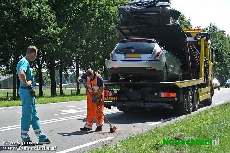 Gewonden bij ongeval N35 / Hagenweg Laag Zuthem - Foto: Niels Jansen