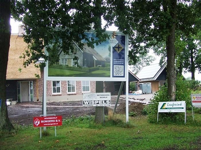 Grote brand Dijkweg Lemelerveld: Anderhalf jaar later - Foto: Wim