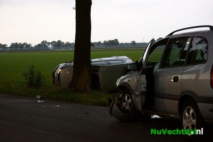 Ongeval Dwarsweg Arriërveldsweg Ommen - Foto: Niels Jansen