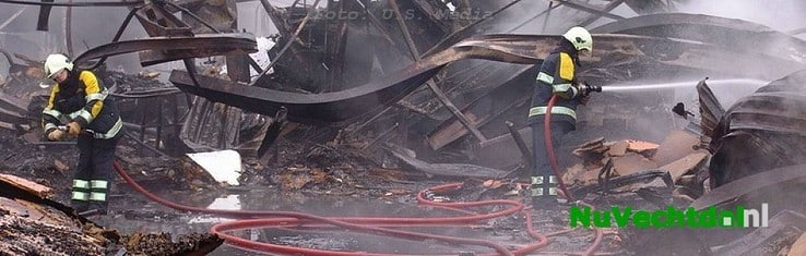 Grote brand Nieuwhoff Dalfsen, tien jaar later - Foto: U.S. Media
