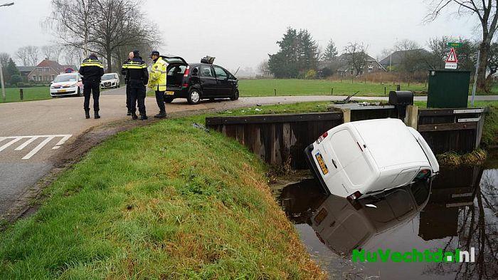 Ongeval op kruispunt Langsweg Vilstersedijk Lemelerveld - Foto: Niels Jansen