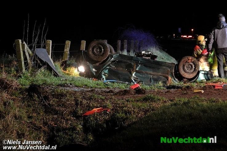 Zwaar ongeval Hessenweg N340 Dalfsen - Foto: Niels Jansen