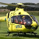 Lifeliner naar Dalfsen voor ongeval met motorrijder