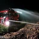 Buitenbrand bij boerderij Slennebroekerweg Dalfsen