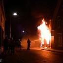 Grote brand verwoest voormalig café in Dalfsen