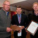 Duurzaamheidsprijs 2012 slagerij Kouwen te Nieuwleusen