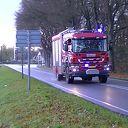 Dalfser brandweer assisteert in Staphorst voor rietbrand