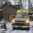 Brandweer Dalfsen rukt uit voor assistentie aan ambulance
