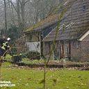 Gevaarlijke schoorsteenbrand in Ommen op tijd gedoofd