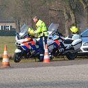 Grote verkeerscontrole aan de Hessenweg bij Oudleusen