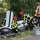 Lichtgewonde bij éénzijdig ongeval Venneweg Dalfsen