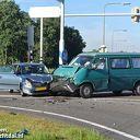 Video: Drie auto's betrokken bij crash N340 Dalfsen