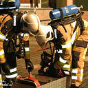 Brandslang lek gestoken tijdens oefening brandweer