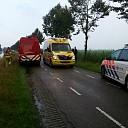 Man met scootmobiel rijdt sloot in in Zwolle