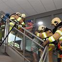 Brandweer Lemelerveld en Luttenberg oefenen in Lemele