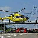 Traumahelikopter bij ernstig ongeval Hasselterweg Zwolle