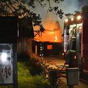 Video: Brand legt schuur aan de Bese in Dalfsen in de as