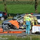 Video: Ongeval auto/paardentrailer N340 Zwolle-Dalfsen