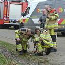 Gaslucht in Laag Zuthem, brandweer zoekt lek
