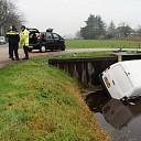 Ongeval op kruispunt Langsweg Vilstersedijk Lemelerveld