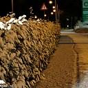 Nachtelijke sneeuwval in Dalfsen (foto's)