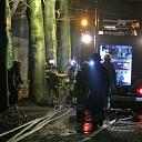 Asbest bij brand Brandweg Lemelerveld