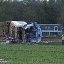 Treinongeval Dalfsen: één grote ravage, machinist overleden