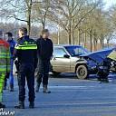 Ongeval met flinke schade Hessenweg Dalfsen